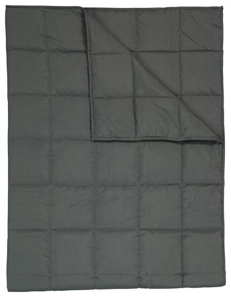 deken verzwaard 200x150 6.8kg grijs - 5500074 - HEMA