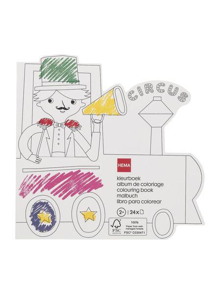kleurboek circustrein - 15920169 - HEMA