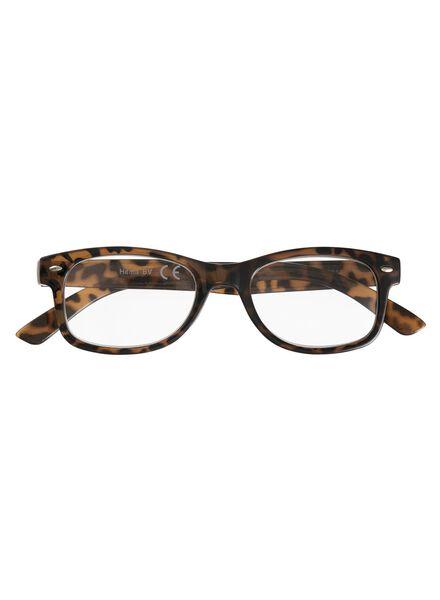 leesbril donkerbruin - 1000011663 - HEMA