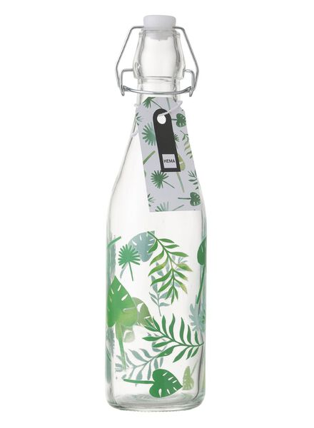 glazen fles - 60050043 - HEMA