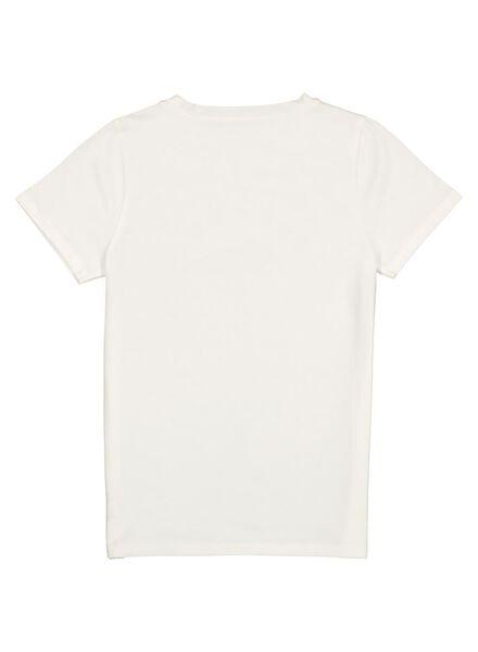 kinder t-shirt gebroken wit gebroken wit - 1000013655 - HEMA