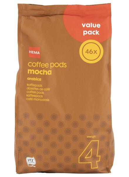 koffiepads mokka - 46 stuks - 17100023 - HEMA