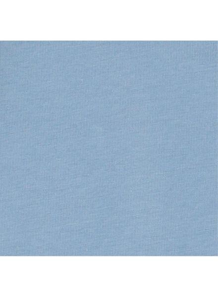 romper biologisch katoen stretch blauw blauw - 1000015309 - HEMA