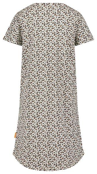 damesnachthemd animal beige L - 23400883 - HEMA