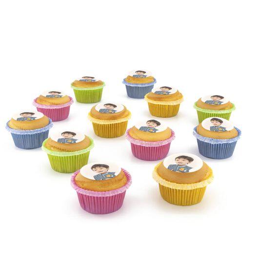 fotocupcake vanille 12 stuks vanille 12 - 6330029 - HEMA