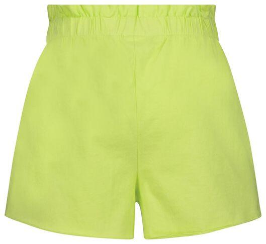 kinder shorts - 2 stuks lila lila - 1000024003 - HEMA