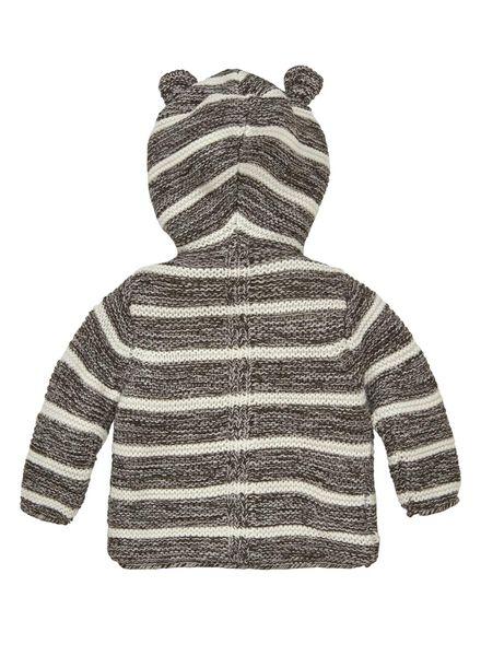newborn vest zwart zwart - 1000009486 - HEMA