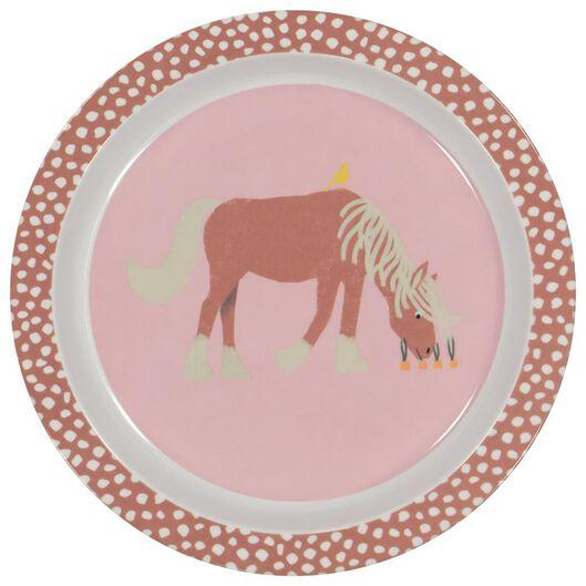 HEMA Ontbijtbord Ø 21.5 Melamine Paard