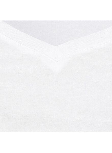 dames t-shirt wit M - 36301762 - HEMA