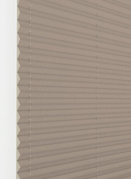 plisségordijn structuur grof transparant 20 mm - 7430093 - HEMA