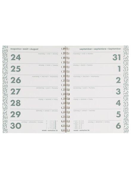 agenda 2020 - 24.5 x 18 cm - meertalig - 14600240 - HEMA