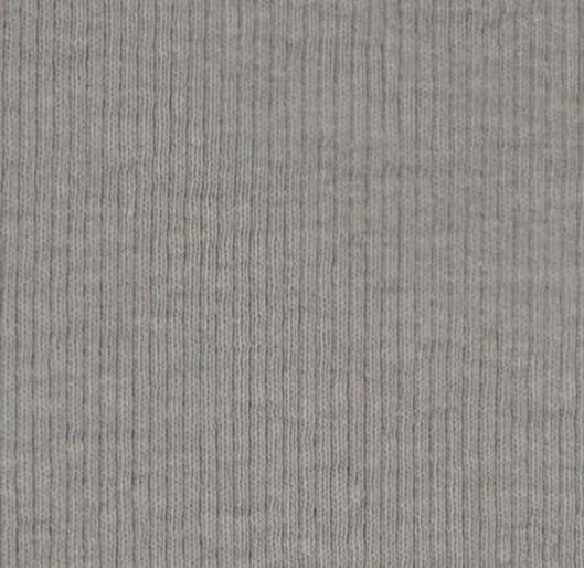 newborn broek rib grijs grijs - 1000020563 - HEMA