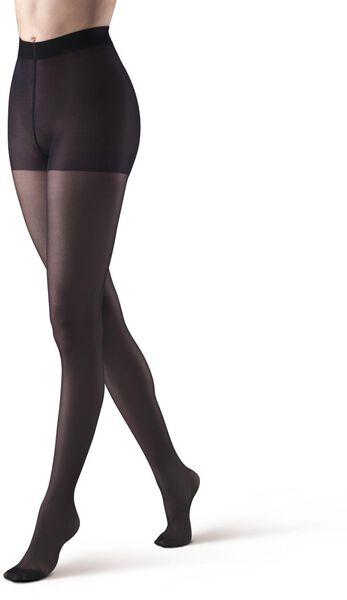 damespanty zwart zwart - 1000012769 - HEMA