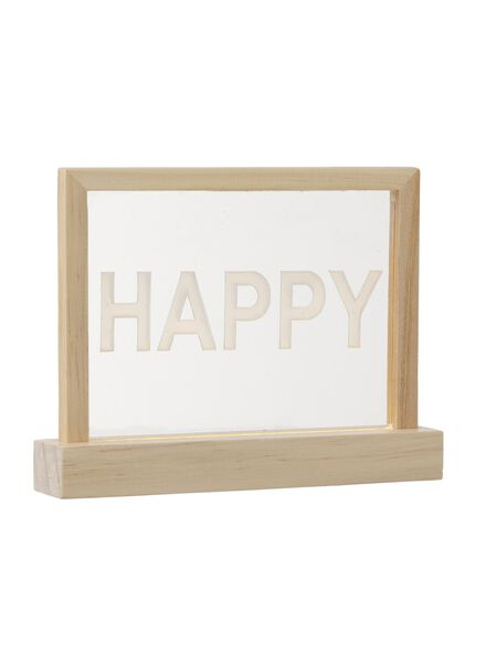lichtbox met quote - 60120165 - HEMA