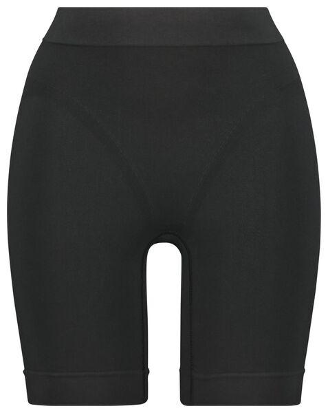 damesbiker firm control zwart XL - 21500163 - HEMA