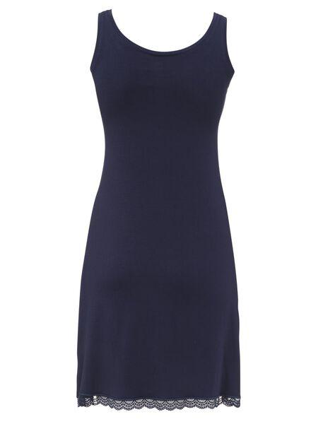 dames nachthemd donkerblauw donkerblauw - 1000008532 - HEMA