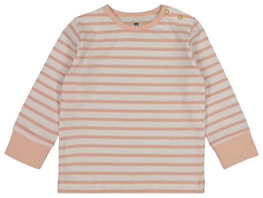 2-pak babypyjama's regenboog lichtroze lichtroze - 1000017777 - HEMA