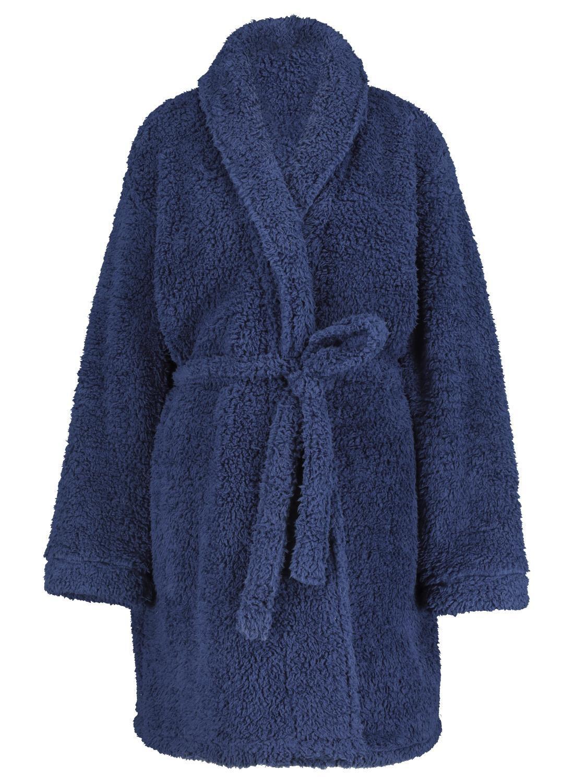 HEMA Dames Badjas Donkerblauw (donkerblauw)
