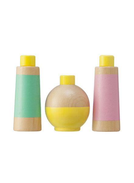houten speelgoed parfumflesjes - 15110243 - HEMA