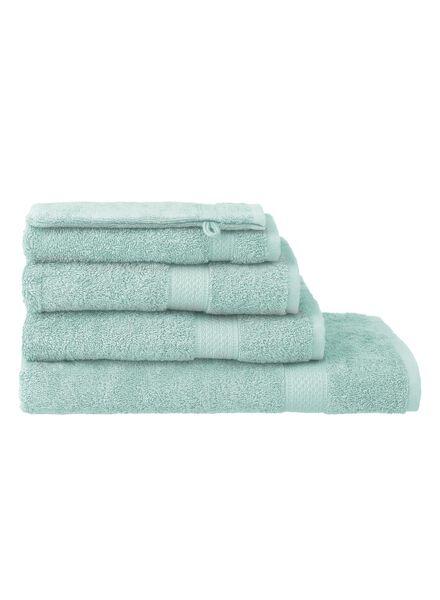 handdoeken - zware kwaliteit mintgroen mintgroen - 1000015172 - HEMA