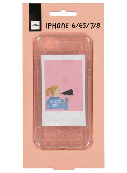 softcase met foto voor iPhone 6/6s/7/8 - 60300526 - HEMA
