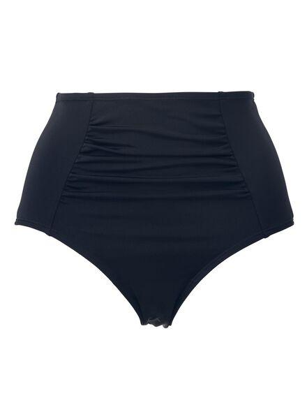 dames bikinislip hoge taille control blauw blauw - 1000011791 - HEMA