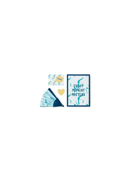 5-pak kraskaarten - 60800379 - HEMA