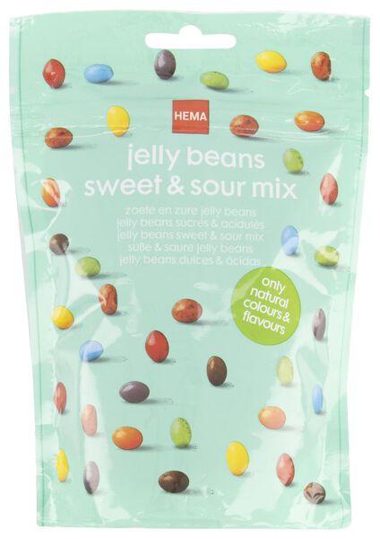 zoete en zure jellybeans - 200 gram - 10200011 - HEMA