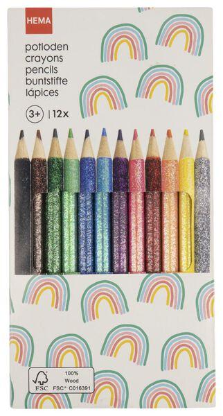 kleurpotloden 12 stuks - 15990189 - HEMA