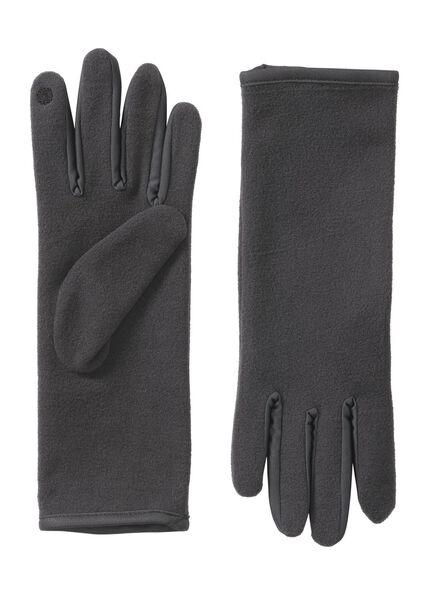 handschoenen grijs grijs - 1000009706 - HEMA