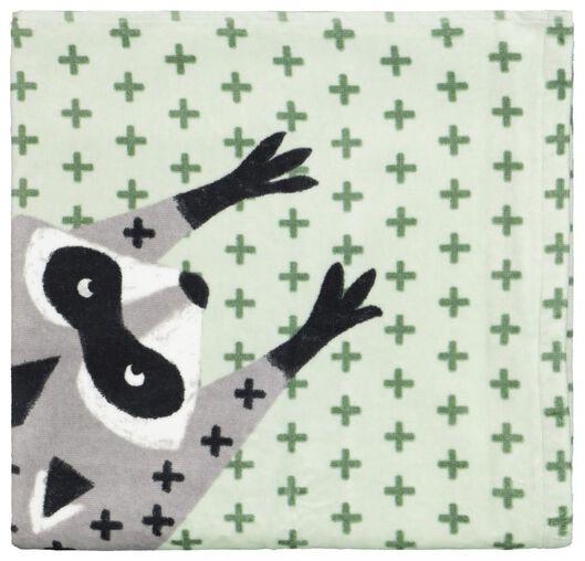 handdoek - velours - 70x140 - wasbeer - 5210119 - HEMA