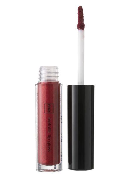 metallic lipgloss shimmering scarlet - 11231104 - HEMA