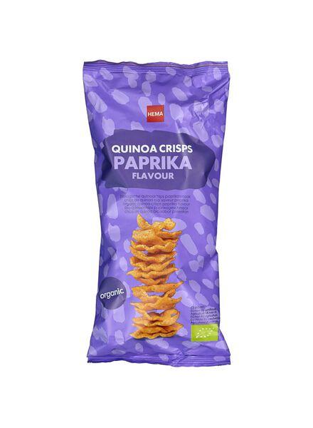 biologische quinoa chips - paprika - 75 gr - 10639444 - HEMA