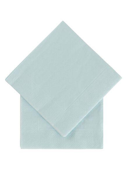 20-pak servetten 24 x 24 cm - 14230032 - HEMA