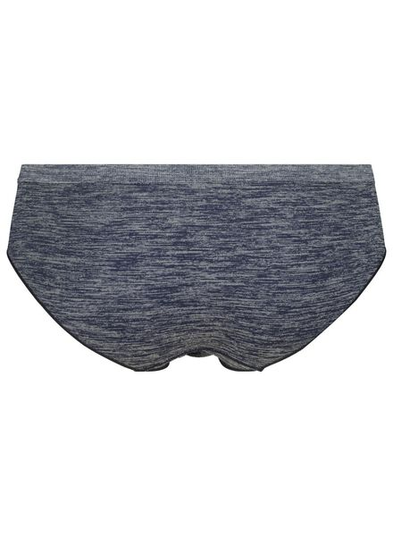 dameshipster naadloos micro donkerblauw donkerblauw - 1000015698 - HEMA