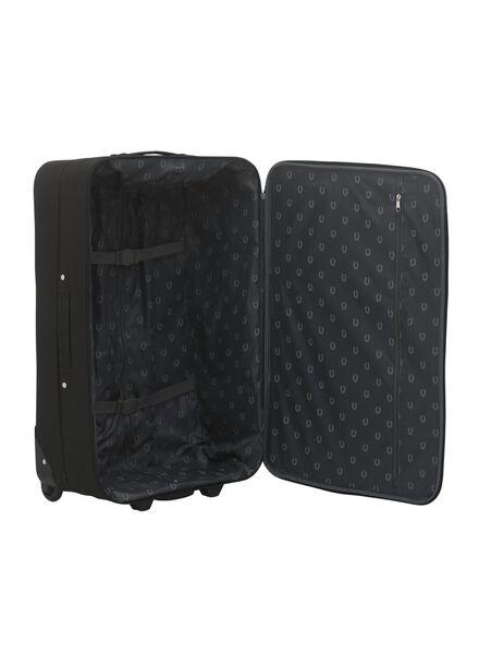 koffer - 73 x 47 x 26 - zwart 73 x 47 x 26 zwart - 18600253 - HEMA