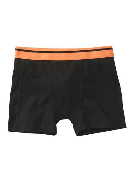 2-pak kinderboxers zwart zwart - 1000011617 - HEMA