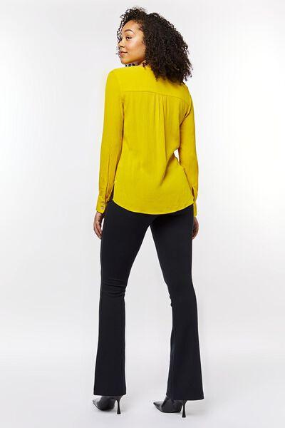 damesblouse geel geel - 1000023008 - HEMA