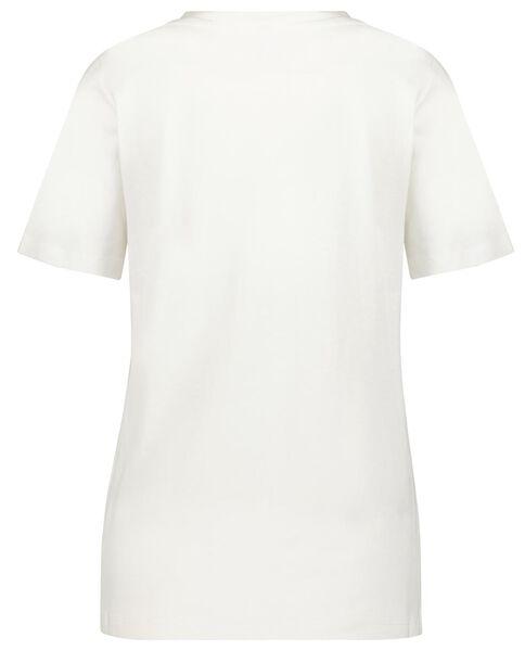 dames t-shirt wit S - 36314826 - HEMA