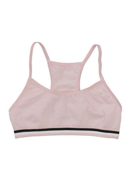 2-pak meisjes tops roze roze - 1000012165 - HEMA