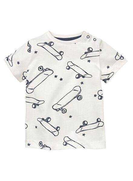 baby t-shirt gebroken wit gebroken wit - 1000012991 - HEMA