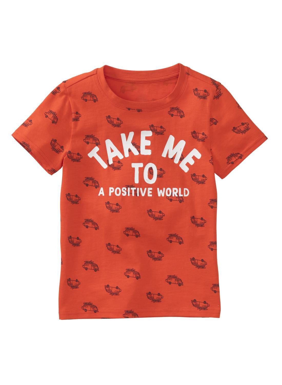 HEMA Kinder T-shirt Oranje (orange)