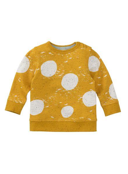 babysweater okergeel okergeel - 1000008900 - HEMA