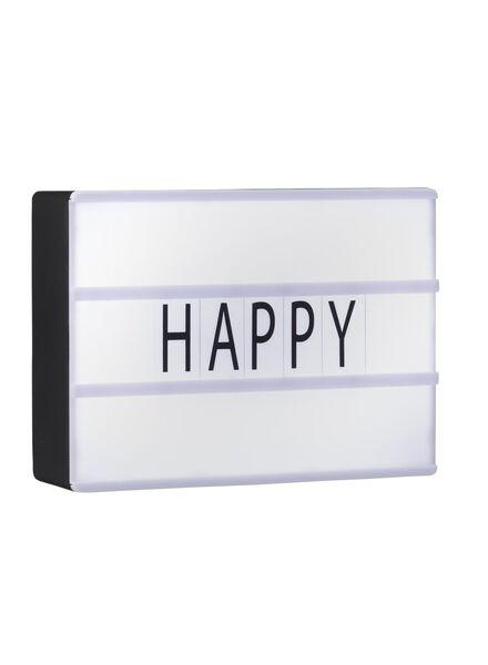 mini lichtbox - 60120162 - HEMA