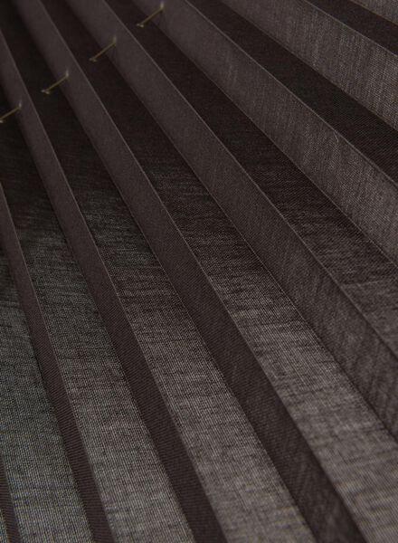 plisségordijn transparant 20 mm - 7430029 - HEMA