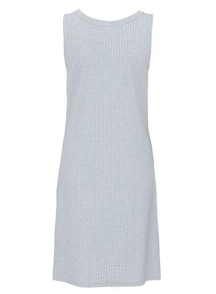 dames nachthemd viscose lichtblauw S - 23463806 - HEMA