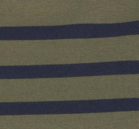 dames t-shirt boothals olijf - 1000020961 - HEMA