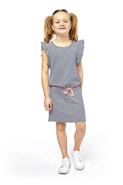 kinderjurk donkerblauw donkerblauw - 1000018986 - HEMA