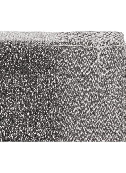 gastendoek - 33 x 50 cm - bamboe - donkergrijs - 5200134 - HEMA