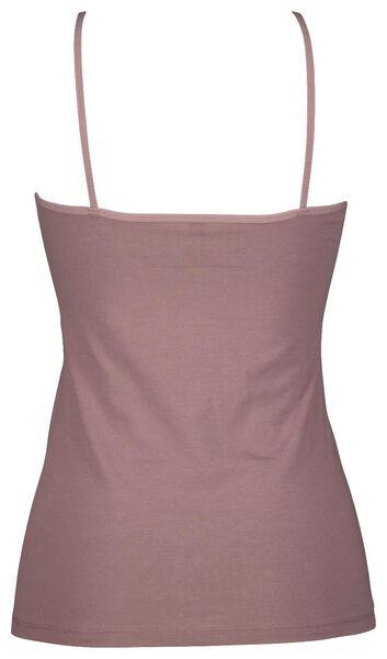 dameshemd spaghettibandjes paars paars - 1000021801 - HEMA